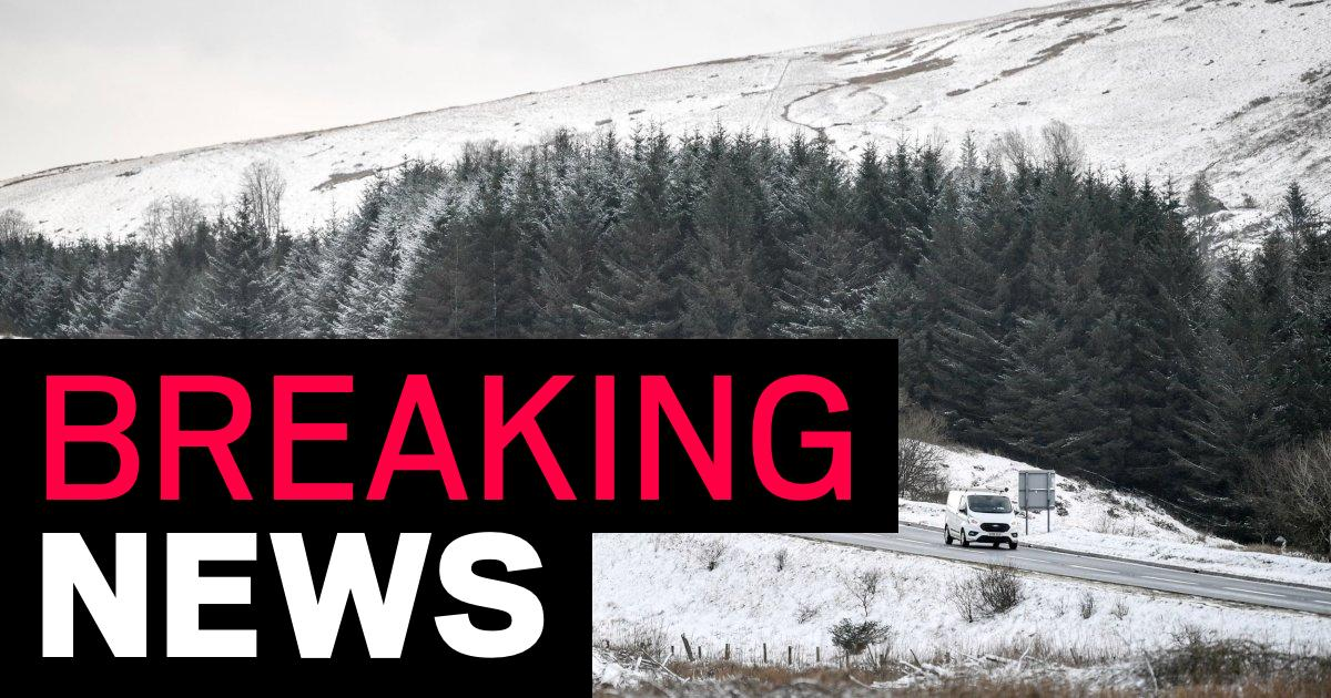 Severe warnings for snow as cold weather moves south across UK