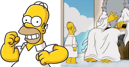 Does Homer actually know he's a cartoon in The Simpsons? Pictures: 20th Century Fox