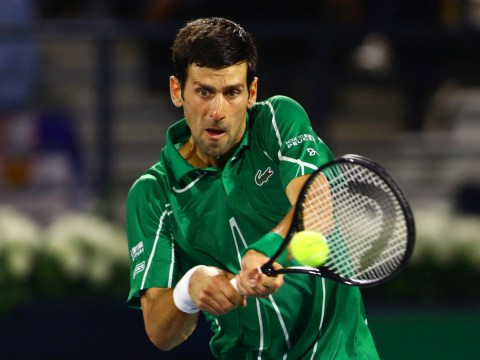 Unbeaten Novak Djokovic defeats Tsitsipas to extend win streak and claim fifth title in Dubai