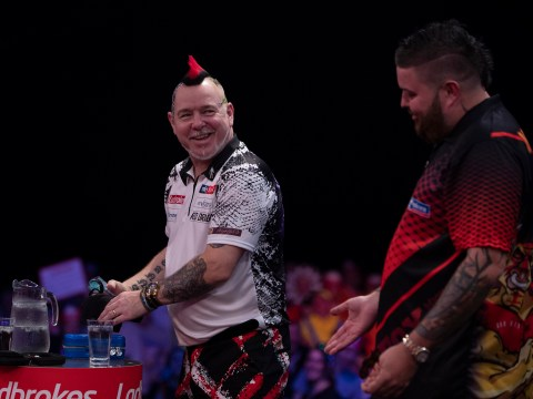 Peter Wright reveals he was almost sick during Masters final win over Michael Smith