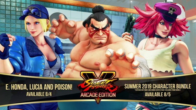 Street Fighter 5 DLC characters