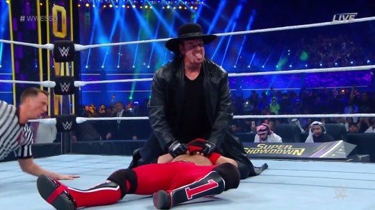 The Undertaker returns to beat AJ Styles