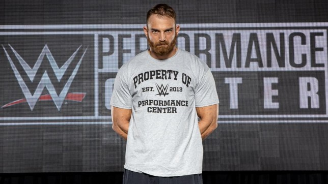 New WWE superstar Timothy Thatcher reports to the Performance Centre