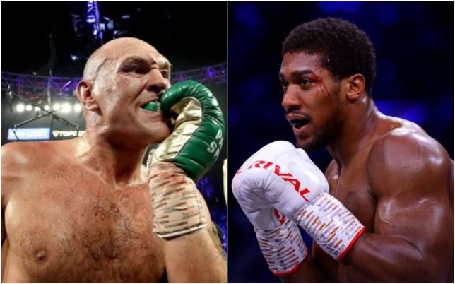 Tyson Fury could face Anthony Joshua in a Saudi Arabia mega fight