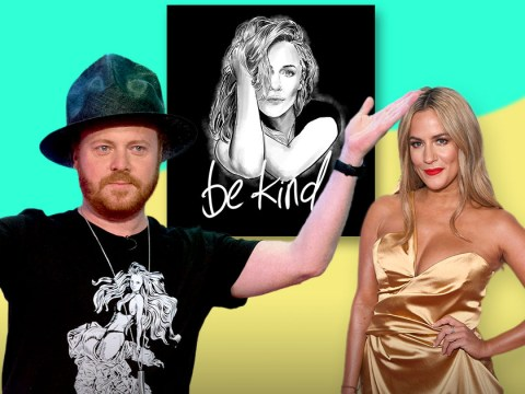 Victory as Keith Lemon says counterfeit Caroline Flack #BeKind t-shirts have been removed
