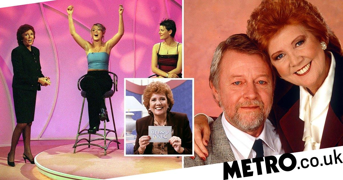 Cilla Black was a 'wreck' while filming for Blind Date after husband's death