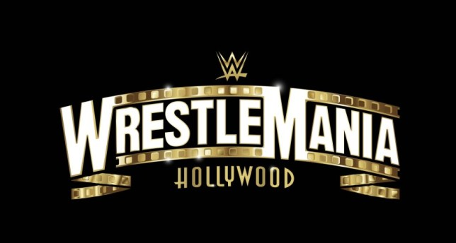 WWE WrestleMania 37 Hollywood logo
