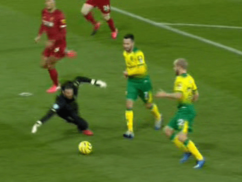 Jamie Carragher hails 'best goalkeeper in the world' Alisson after stunning save against Norwich