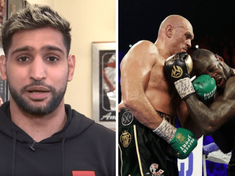 Amir Khan makes prediction for Tyson Fury's trilogy fight with Deontay Wilder