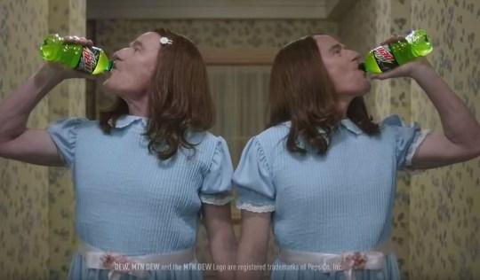 Bryan CranstonMountain Dew ad