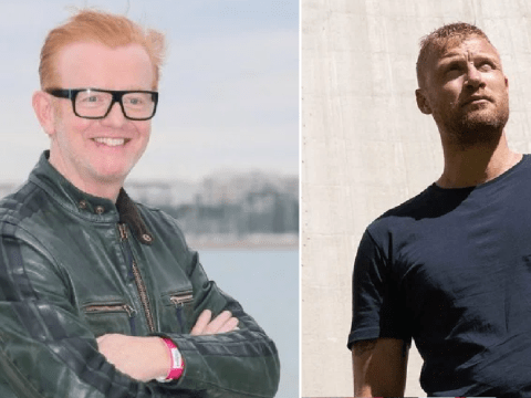 Chris Evans jokes about his Top Gear stint as he congratulates Freddie Flintoff's success