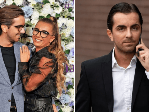Dani Dyer's boyfriend Sammy Kimmence appears in court for allegedly conning elderly victims out of £34,000