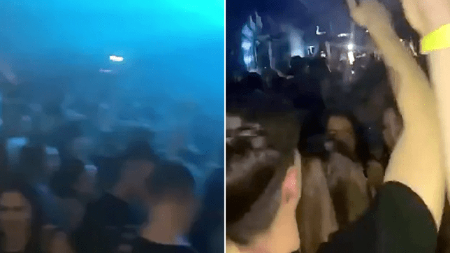 Screenshots of clubbers in the Assembly, Leamington Spa at an event where a 19-year-old man 'died after taking MDMA'