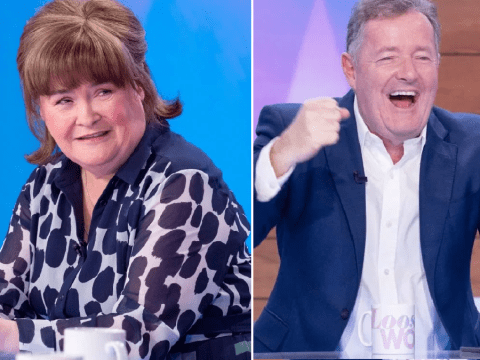 Susan Boyle and Denise Welch 'at odds' over surprise Piers Morgan crush