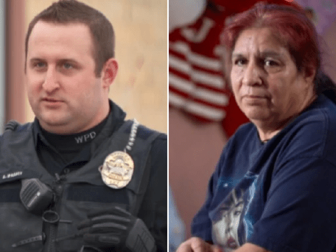 Kind police officer took pity on widow who cares for 9 kids after catching her shoplifting