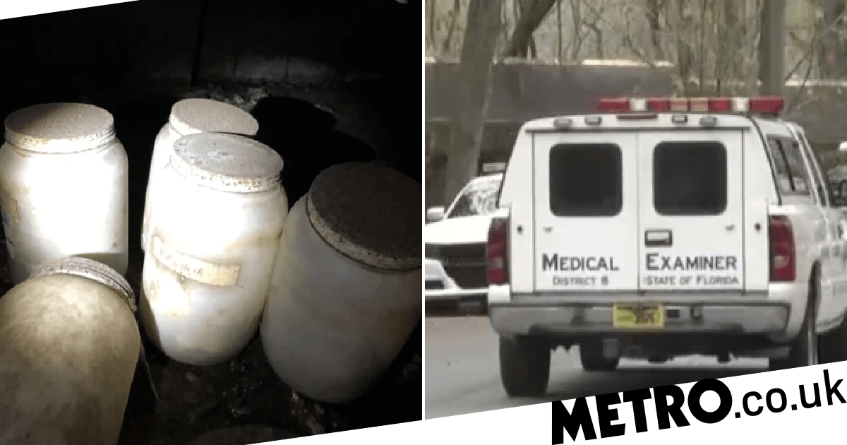 Horrified home inspector finds jars of human tongues and remains in crawlspace