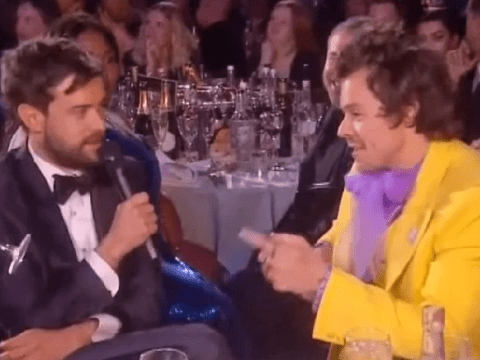 Brit Awards 2020: Jack Whitehall left red-faced after cracking awkward joke to Harry Styles' sister