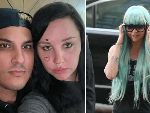 Amanda Bynes apologises for 'drugged out' rants at celebrities as she introduces new fiancé