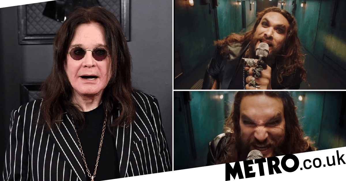 Jason Momoa transforms into Prince of Darkness for Ozzy Osbourne video
