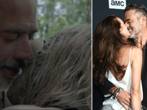 The Walking Dead: Jeffrey Dean Morgan's wife has best response to horrifying Alpha and Negan sex scene