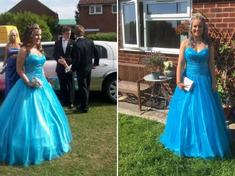 Woman gives away her prom dress for free to girls who can't afford the costs
