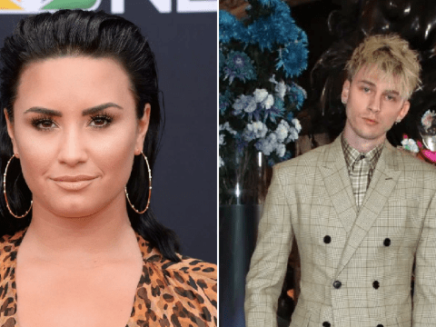 Demi Lovato and Machine Gun Kelly are not dating after being pictured leaving a club together