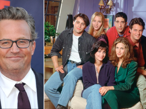 Matthew Perry gets everyone excited for that Friends reunion as he teases 'big news' is coming