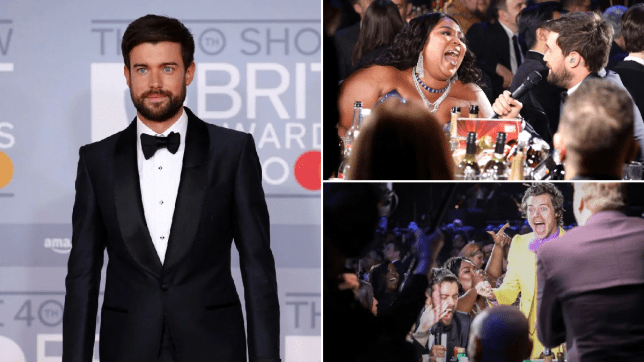 Brit Awards Jack Whitehall arrival