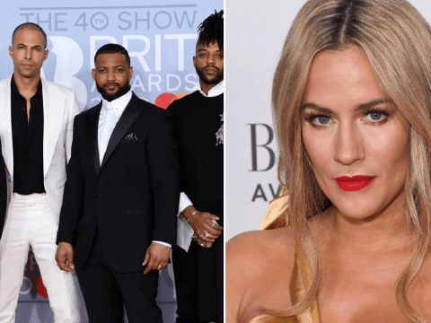 Brits 2020: JLS remember Caroline Flack's 'beautiful soul' after Love Island presenter's death