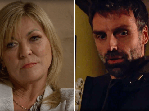 Emmerdale spoilers: Pierce Harris' sinister intentions for Rhona Goskirk revealed as he forms an alliance with Kim Tate