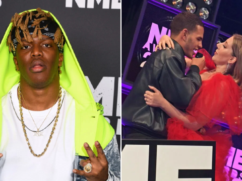 KSI calls for slowthai to be 'punished' after Katherine Ryan comments and brawl at NME Awards