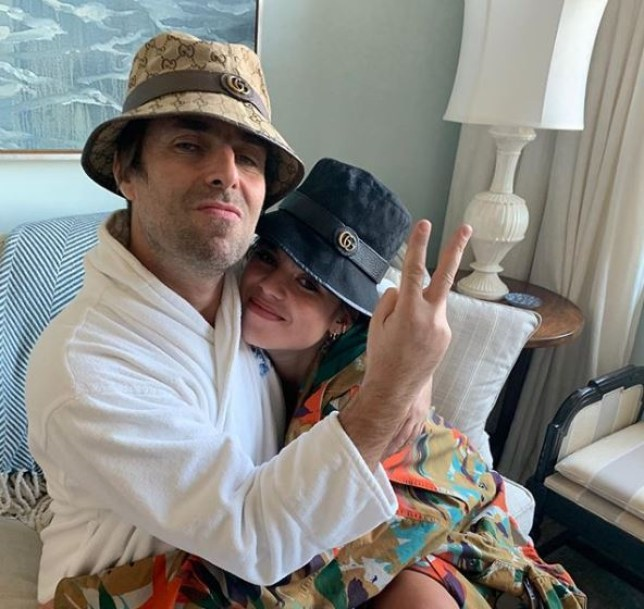 Liam Gallagher and daughter Molly
