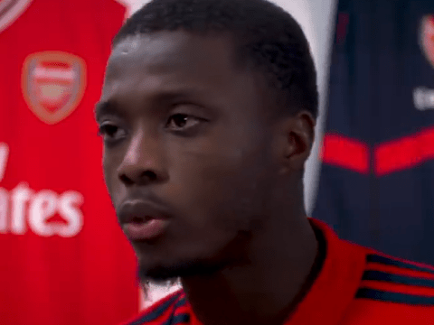 Nicolas Pepe's surprise answer when asked to name toughest defender he's faced