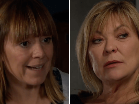 Emmerdale spoilers: Rhona Goskirk in danger as Kim Tate sets out to stop her search for evidence