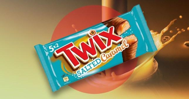 Salted caramel twix bar