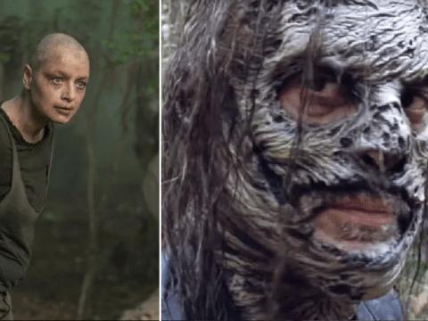 The Walking Dead fans convinced Negan gives Alpha her mask in season 10B trailer