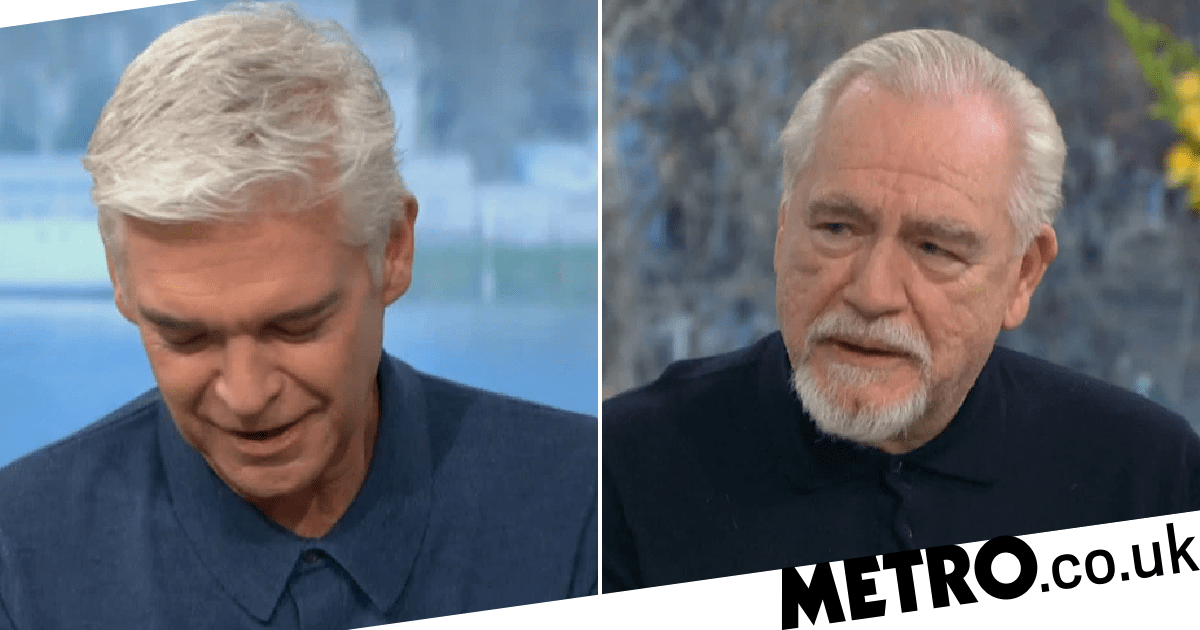 Phillip Schofield admits he 'could cry' as Brian Cox praises him for coming out