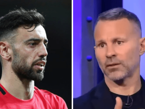 Bruno Fernandes could be defensive 'liability' in deep midfield role for Manchester United, says Ryan Giggs
