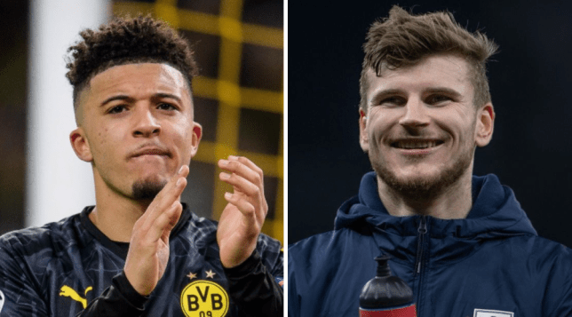 Jamie Carragher wants to see Jadon Sancho and Timo Werner at Liverpool next season