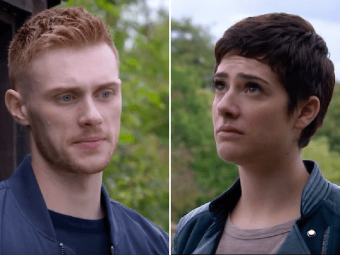Emmerdale spoilers: Passion for Victoria Barton and Luke Posner as they almost kiss