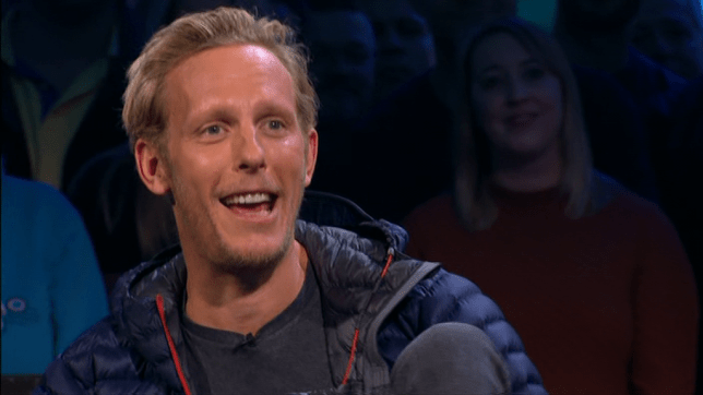 Laurence Fox Top Gear