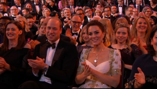 Prince William and Catherine at the BAFTAS