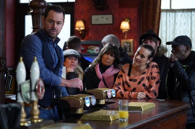 Mick and Tina Carter in EastEnders