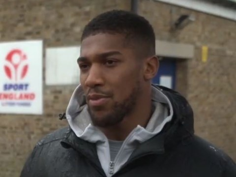 Anthony Joshua hits back at Tyson Fury with a dig at his opponents
