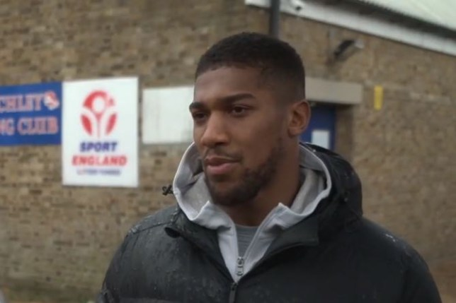 Anthony Joshua says Tyson Fury has only had two difficult fights in his career