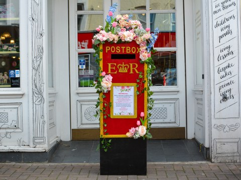 Postboxes pop up across the UK for people to send words of encouragement to new mums for Mother's Day