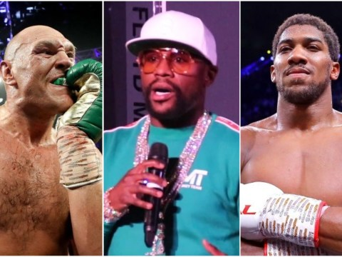 Floyd Mayweather predicts heavyweight 'not from the USA or UK' will overtake Tyson Fury and Anthony Joshua