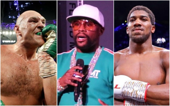 Floyd Mayweather refused to predict the winner of Tyson Fury vs Anthony Joshua