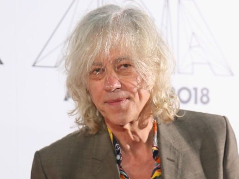 Bob Geldof was terrified of being homeless after volunteering at a shelter