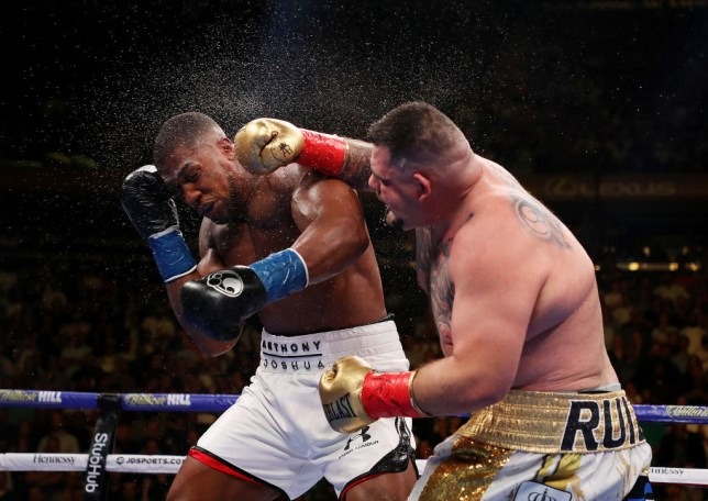 Anthony Joshua was suffering from a 'medical' problem during his fight with Andy Ruiz Jr